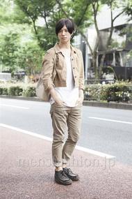 ファッションコーディネート原宿・表参道 2013年06月 ハマダユウヘイさん