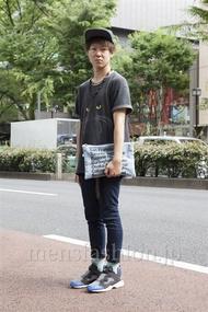ファッションコーディネート原宿・表参道 2013年06月 栗林吏樹さん