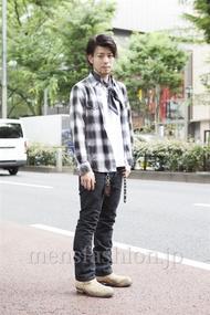 ファッションコーディネート原宿・表参道 2013年06月 小林綾太さん