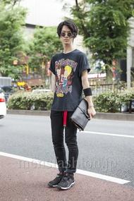 ファッションコーディネート原宿・表参道 2013年06月 くろさん