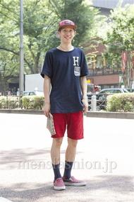 ファッションコーディネート原宿・表参道 2013年07月 松尾芳晴さん