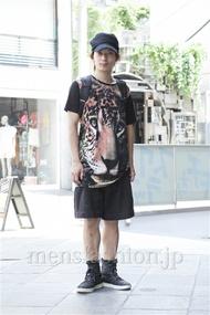 ファッションコーディネート原宿・表参道 2013年07月 新田快広さん