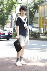 ファッションコーディネート原宿・表参道 2013年07月 アンドウコウイチさん
