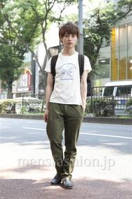 ファッションコーディネート原宿・表参道 2013年07月 日野達也さん