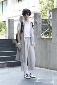 ファッションコーディネート原宿・表参道 2013年07月 くろさん