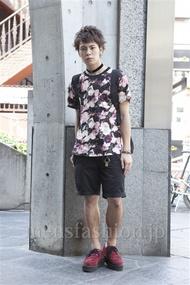 ファッションメンズ一押し|ファッションコーディネート原宿・表参道 2013年07月 大野ヨウさん