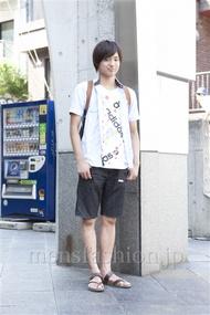 ファッションコーディネート原宿・表参道 2013年07月 さいとうゆうたさん