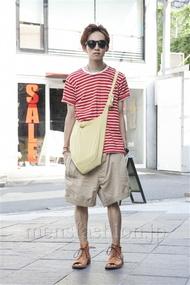 メンズファッションの一押し|ファッションコーディネート原宿・表参道 2013年07月 浦辻大奨さん