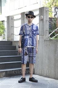 ファッションコーディネート原宿・表参道 2013年07月 小林綾太さん