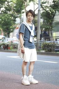 ファッションコーディネート原宿・表参道 2013年07月 佐藤貴龍さん