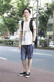 ファッションコーディネート原宿・表参道 2013年07月 松金祐大さん