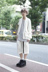 ファッションメンズお薦め|ファッションコーディネート原宿・表参道 2013年07月 長澤隆太郎さん