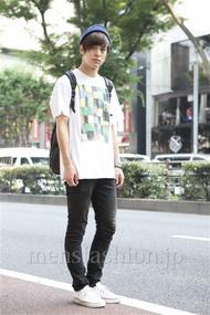 ファッションコーディネート原宿・表参道 2013年07月 佐々木和彦さん