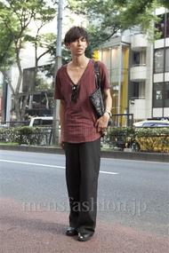 ファッションコーディネート原宿・表参道 2013年07月 飯島彰彦さん