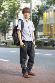 ファッションコーディネート原宿・表参道 2013年07月 山内好嗣さん