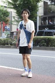 ファッションコーディネート原宿・表参道 2013年07月 ユウマヤマザワさん