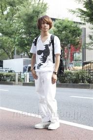ファッションコーディネート原宿・表参道 2013年07月 山崎悠平さん