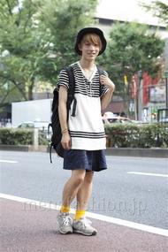ファッションコーディネート原宿・表参道 2013年07月 名古屋雅史さん
