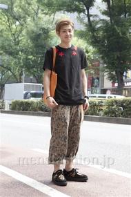 ファッションコーディネート原宿・表参道 2013年07月 FUMIYAさん