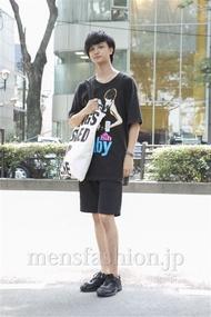 ファッションコーディネート原宿・表参道 2013年07月 原田達也さん