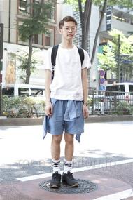 ファッションコーディネート原宿・表参道 2013年07月 斎藤章平さん