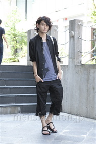 モテ系メンズファッション|ファッションコーディネート原宿・表参道 2013年07月 藤木亮介さん
