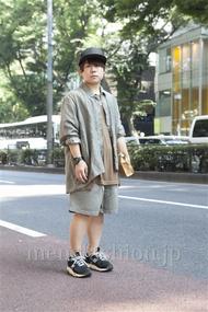 ファッションコーディネート原宿・表参道 2013年07月 KENZOさん