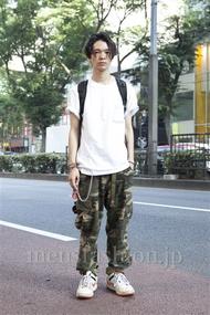 メンズファッションなら|ファッションコーディネート原宿・表参道 2013年07月 岩井拳士朗さん