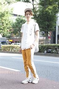 ファッションコーディネート原宿・表参道 2013年07月 伏貫 諒さん