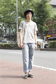 ファッションコーディネート原宿・表参道 2013年07月 高村雄大さん