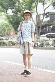ファッションコーディネート原宿・表参道 2013年07月 内田 遼さん