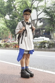 ファッションコーディネート原宿・表参道 2013年07月 寺坂昌大さん
