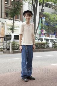 ファッションコーディネート原宿・表参道 2013年07月 岩橋康太さん