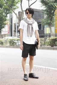 ファッションコーディネート原宿・表参道 2013年07月 コウセイさん