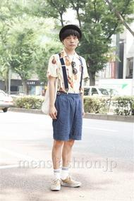 ファッションコーディネート原宿・表参道 2013年07月 井上貴弘さん