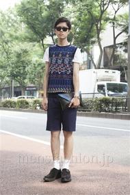ファッションコーディネート原宿・表参道 2013年07月 いしずかたくやさん