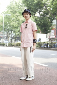 ファッションコーディネート原宿・表参道 2013年07月 栗林吏樹さん
