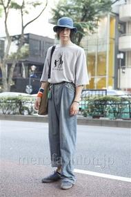 ファッションコーディネート原宿・表参道 2013年07月 北向達也さん