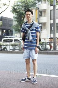 ファッションコーディネート原宿・表参道 2013年07月 青山清志さん