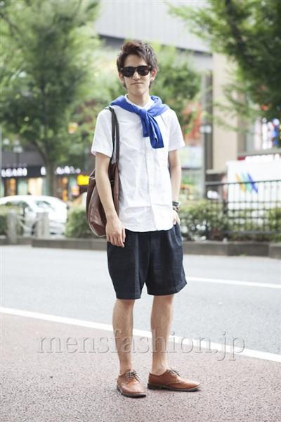 さん ファッションコーディネート原宿・表参道 2013年08月 こがけんさん
