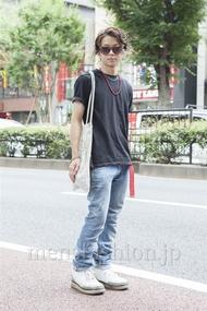 ファッションコーディネート原宿・表参道 2013年08月 佐藤貴龍さん
