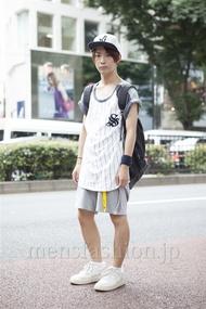 ファッションコーディネート原宿・表参道 2013年08月 名古屋 優さん