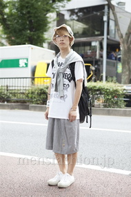ファッションコーディネート原宿・表参道 2013年08月 名古屋雅史さん