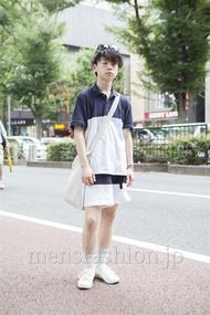 ファッションコーディネート原宿・表参道 2013年08月 アンドウコウイチさん