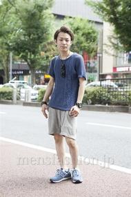 ファッションコーディネート原宿・表参道 2013年08月 松田亮葉さん