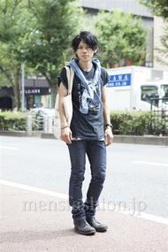ファッションコーディネート原宿・表参道 2013年08月 黒山慶司さん