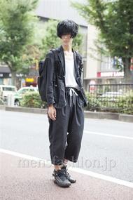 ファッションコーディネート原宿・表参道 2013年08月 くろさん