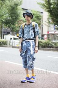 ファッションコーディネート原宿・表参道 2013年08月 石田直輝さん