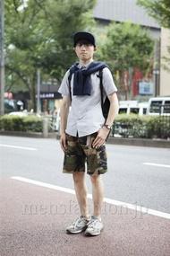 ファッションコーディネート原宿・表参道 2013年08月 木村政紀さん