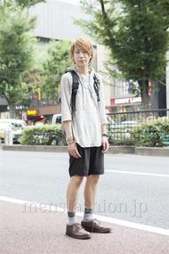 ファッションコーディネート原宿・表参道 2013年08月 宮下佳佑さん